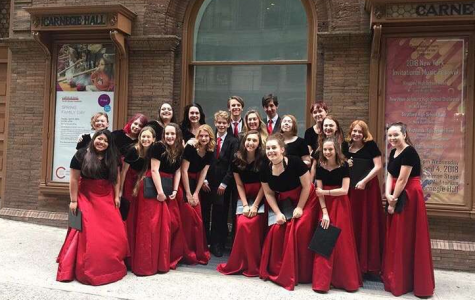 GSHS Choir Performs at Carnegie Hall