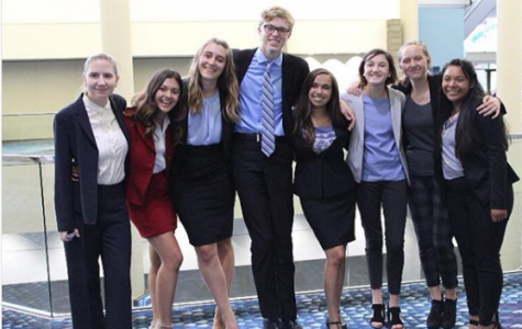 Mock Trial Team Sends Eight to Compete in Georgia