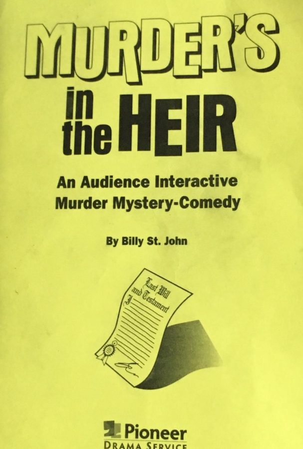 Murder Mystery in the Drama Department